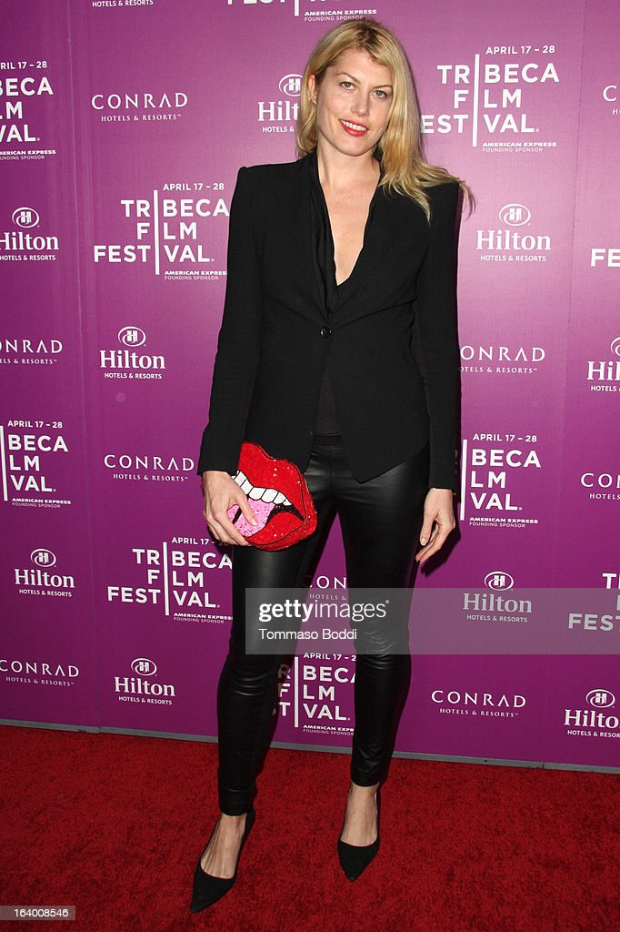 Actress Meredith Ostrom attends the 5th annual Tribeca Film Festival 2013 LA reception held at The Beverly Hilton Hotel on March 18, 2013 in Beverly Hills, California.