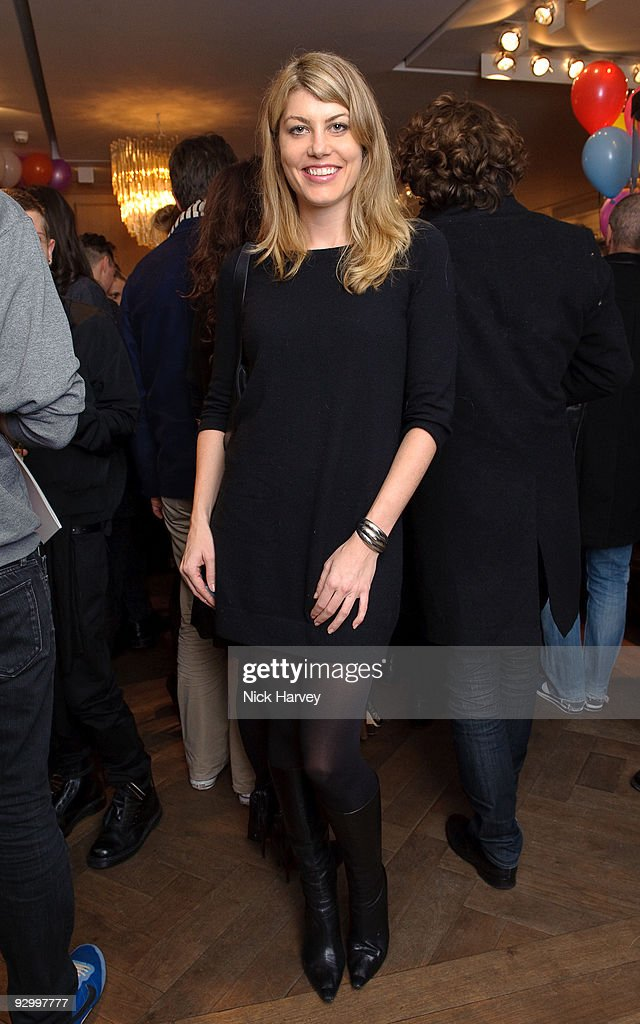 Actress <a gi-track='captionPersonalityLinkClicked' href=/galleries/search?phrase=Meredith+Ostrom&family=editorial&specificpeople=207011 ng-click='$event.stopPropagation()'>Meredith Ostrom</a> attends the Lanvin Party to celebrate the release of Mika's EP 'Songs Of Sorrow' on November 11, 2009 in London, England.