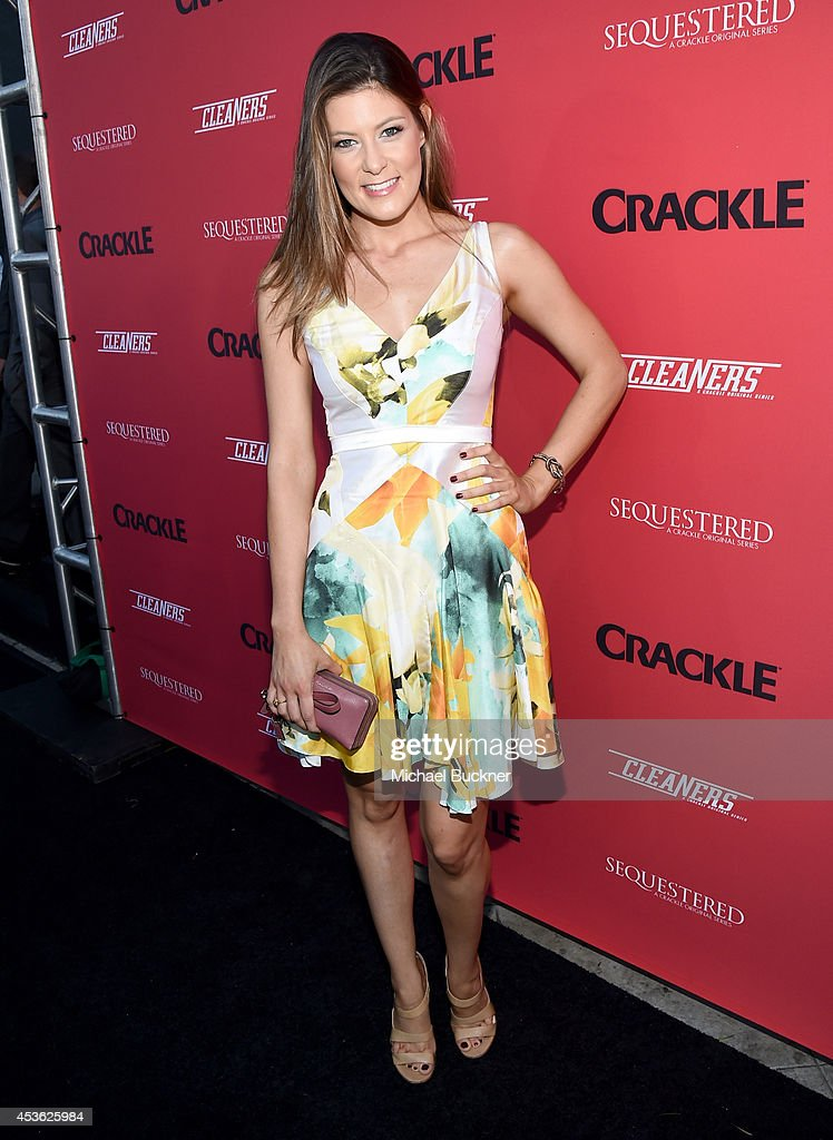 Actress Meredith Pyle attends Crackle Presents: Summer Premieres Event for originals, 'Sequestered' and 'Cleaners' at 1 OAK on August 14, 2014 in West Hollywood, California.