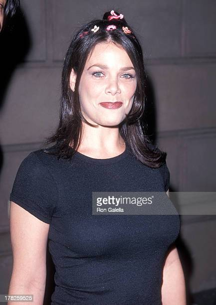 Actress Meredith Salenger attends Maxim Magazine's 'Circus Maximus' First Annual Hollywood Gala on May 6 1999 at The Swimming Pool in Hollywood...