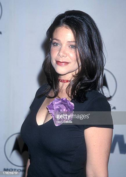 Actress Meredith Salenger attends Motorola's Second Annual Holiday Party on December 7 2000 at Dream in Hollywood California