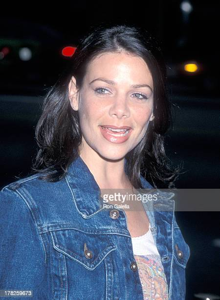 Actress Meredith Salenger attends the '28 Days' Beverly Hills Premiere on April 6 2000 at the Academy of Motion Picture Arts Sciences in Beverly...