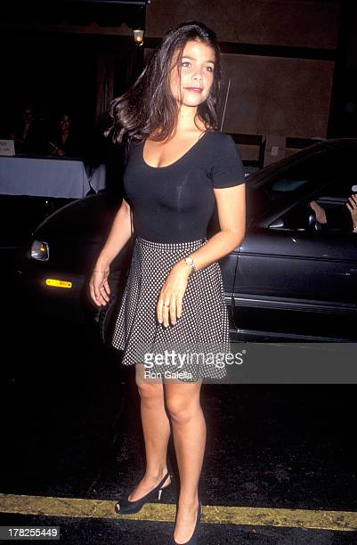 Actress Meredith Salenger on September 23 1992 at the Roxbury in West Hollywood California