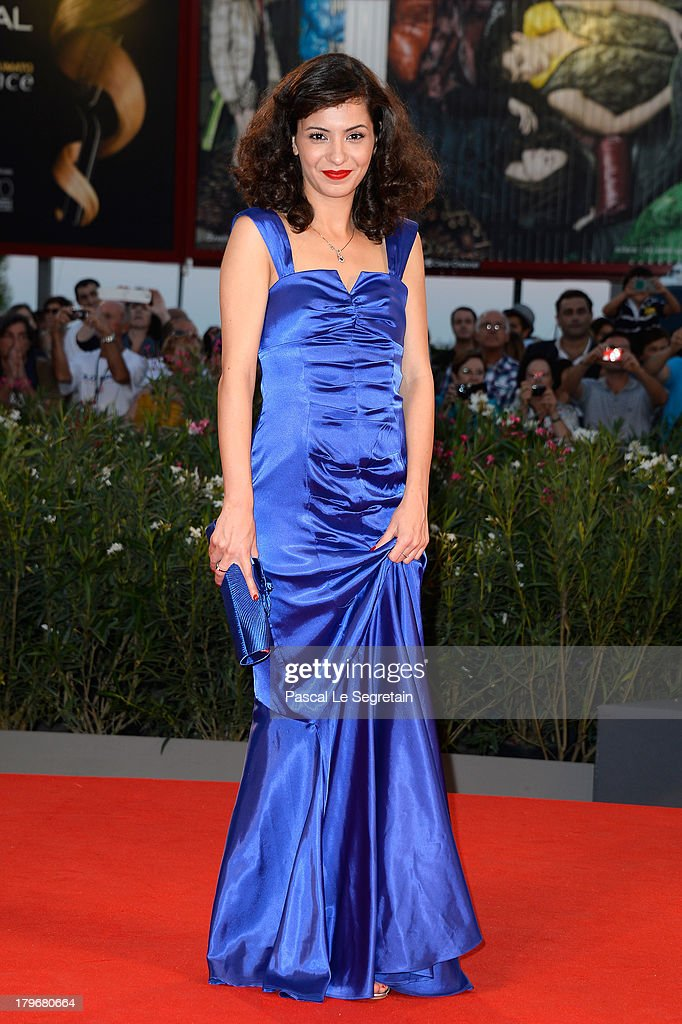 Actress Meriem Medjkane attends 'Les Terrasses' premiere during the 70th Venice International Film Festival at Palazzo del cinema on September 6, 2013 in Venice, Italy.