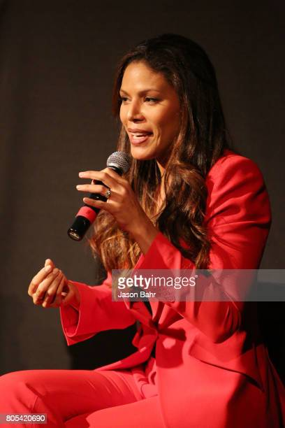 Actress Merle Dandridge participates in the Women In Entertainment panel discussion for SeriesFest Season 3 at Sie FilmCenter on July 1 2017 in...