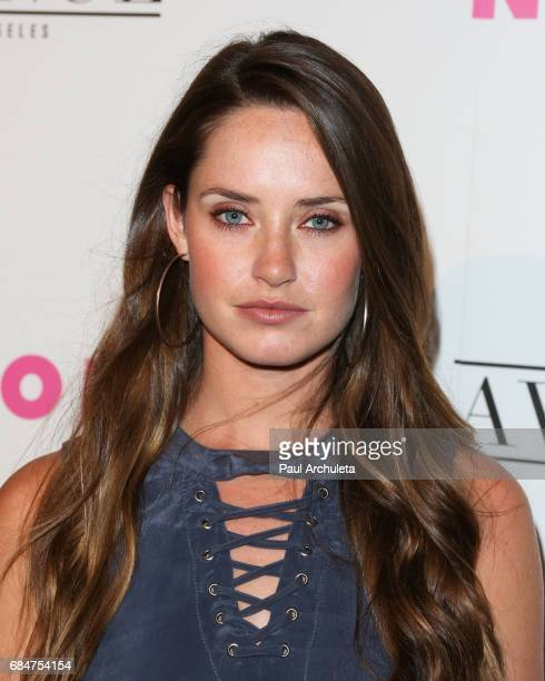 Actress Merritt Patterson attends NYLON's annual Young Hollywood May issue event with cover Star Rowan Blanchard at Avenue on May 2 2017 in Los...
