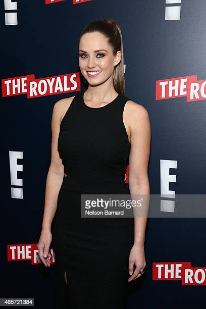 Actress Merritt Patterson attends 'The Royals' New York Series Premiere at The Standard Highline on March 9 2015 in New York City