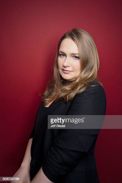 Actress Merritt Wever is photographed for TV Guide Magazine on January 12 2015 in Pasadena California