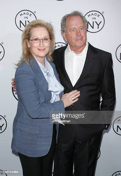 Actress Meryl Streep and husband Don Gummer attend the 2012 Made In NY Awards at Gracie Mansion on June 4 2012 in New York City