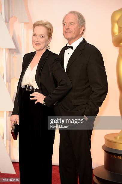 Actress Meryl Streep and sculptor Don Gummer attend the 87th Annual Academy Awards at Hollywood Highland Center on February 22 2015 in Hollywood...