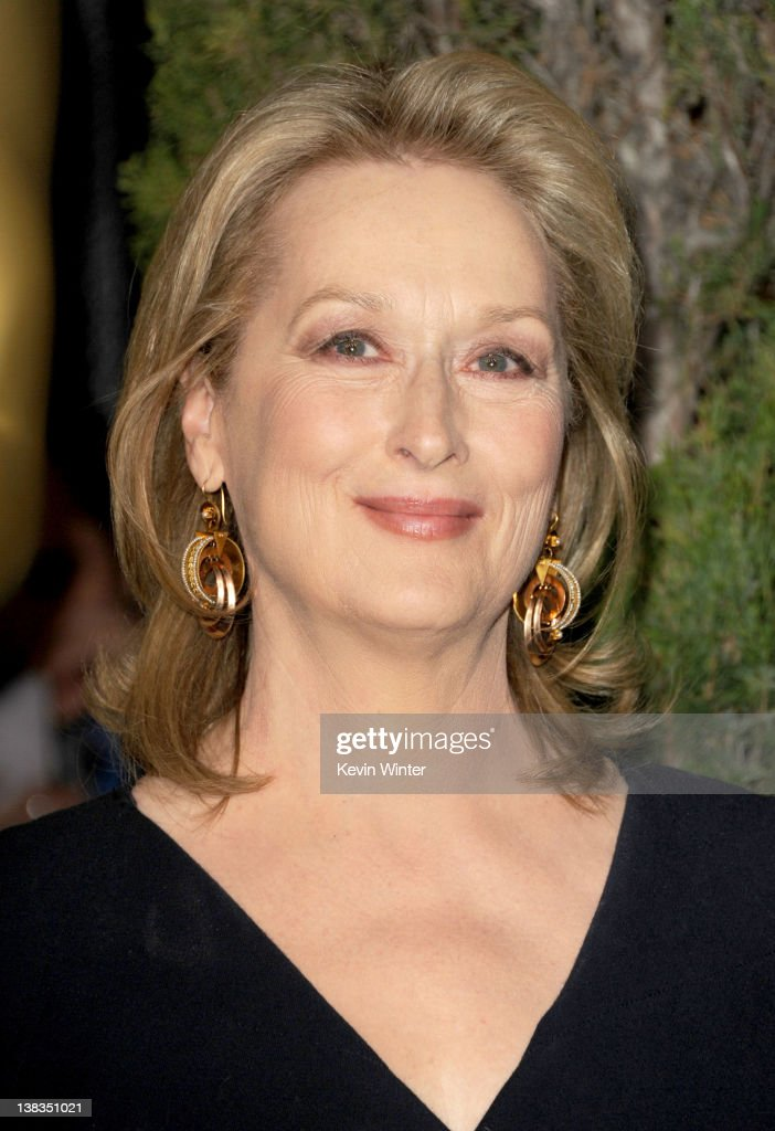 Actress Meryl Streep arrives at the 84th Academy Awards Nominations Luncheon at The Beverly Hilton hotel on February 6 2012 in Beverly Hills...