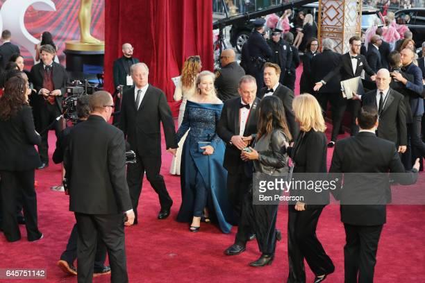 Actress Meryl Streep arrives at the 89th Annual Academy Awards at Hollywood Highland Center on February 26 2017 in Hollywood California
