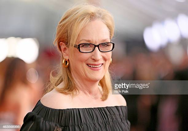 Actress Meryl Streep attends 20th Annual Screen Actors Guild Awards at The Shrine Auditorium on January 18 2014 in Los Angeles California