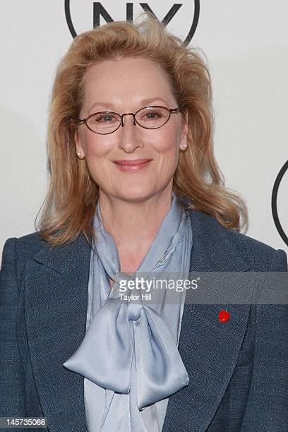 Actress Meryl Streep attends the 2012 Made In NY Awards at Gracie Mansion on June 4 2012 in New York City