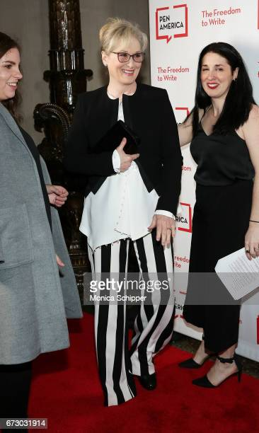 Actress Meryl Streep attends the 2017 PEN America Literary Gala at American Museum of Natural History on April 25 2017 in New York City