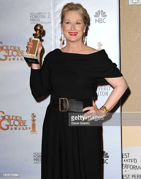 Actress Meryl Streep attends the 67th Annual Golden Globes Awards at The Beverly Hilton Hotel on January 17 2010 in Beverly Hills California