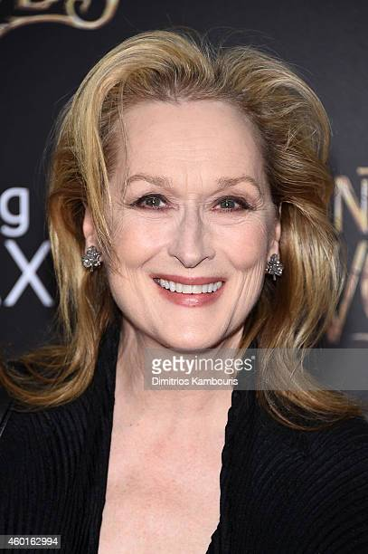 Actress Meryl Streep attends the 'Into The Woods' World Premiere at Ziegfeld Theater on December 8 2014 in New York City