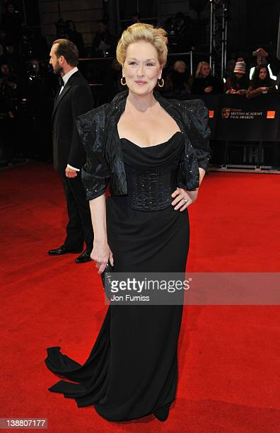 Actress Meryl Streep attends the Orange British Academy Film Awards 2012 at the Royal Opera House on February 12 2012 in London England