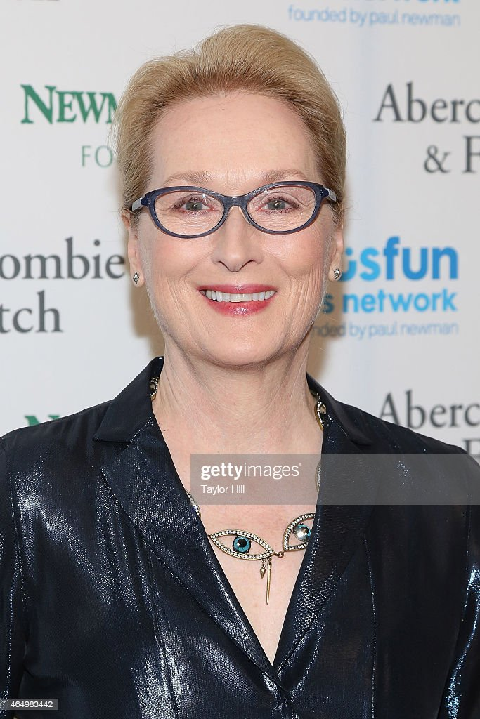 Actress Meryl Streep attends the SeriousFun Children's Network's New York City Gala at Avery Fisher Hall on March 2, 2015 in New York City.