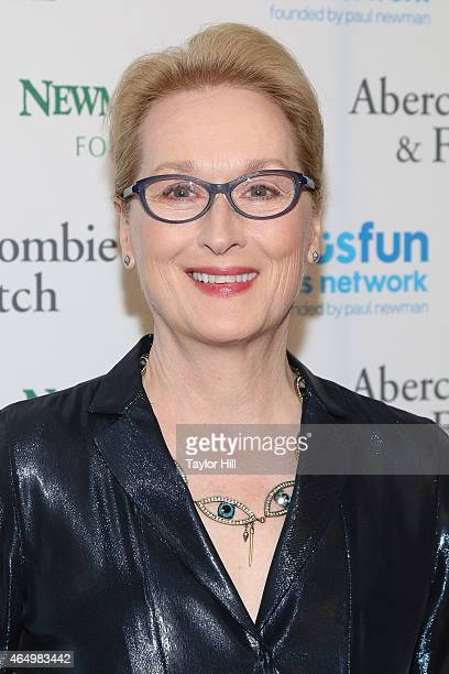 Actress Meryl Streep attends the SeriousFun Children's Network's New York City Gala at Avery Fisher Hall on March 2 2015 in New York City