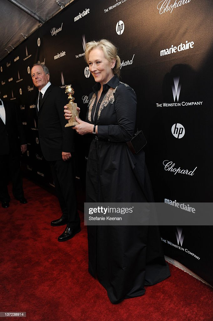 Actress Meryl Streep attends The Weinstein Company Celebration of the 2012 Golden Globes presented by Chopard held at The Beverly Hilton hotel on January 15, 2012 in Beverly Hills, California.