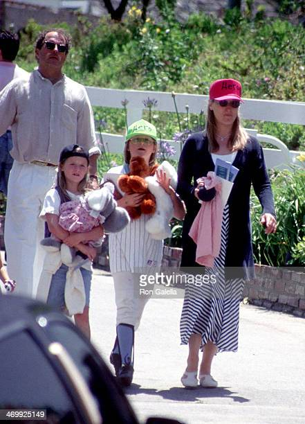 Actress Meryl Streep husband Donald Gummer and daughters Grace and Mamie attend the Fifth Annual 'A Time for Heroes' Celebrity Carnival to Benefit...