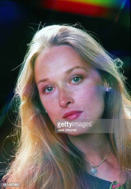 Actress Meryl Streep photographed in August 1976