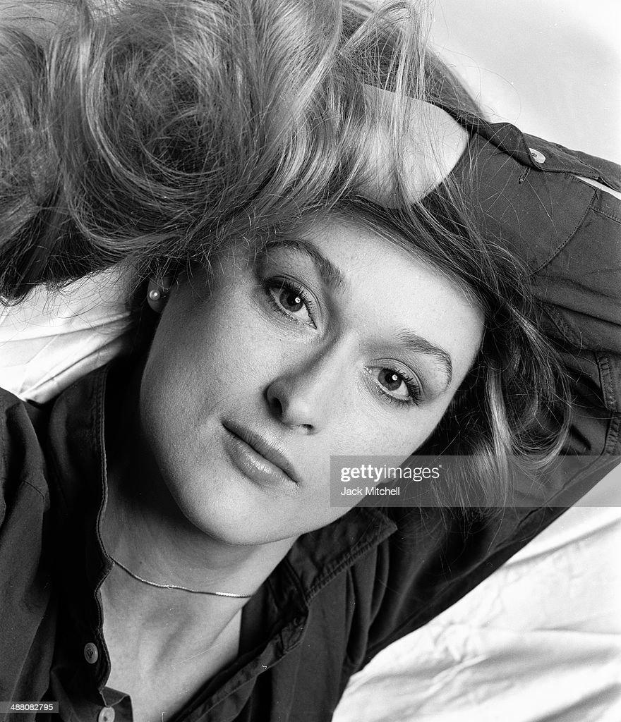 Actress Meryl Streep photographed in January 1978.