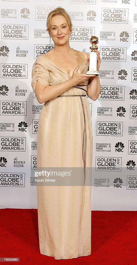 The 64th Annual Golden Globe Awards - Press Room