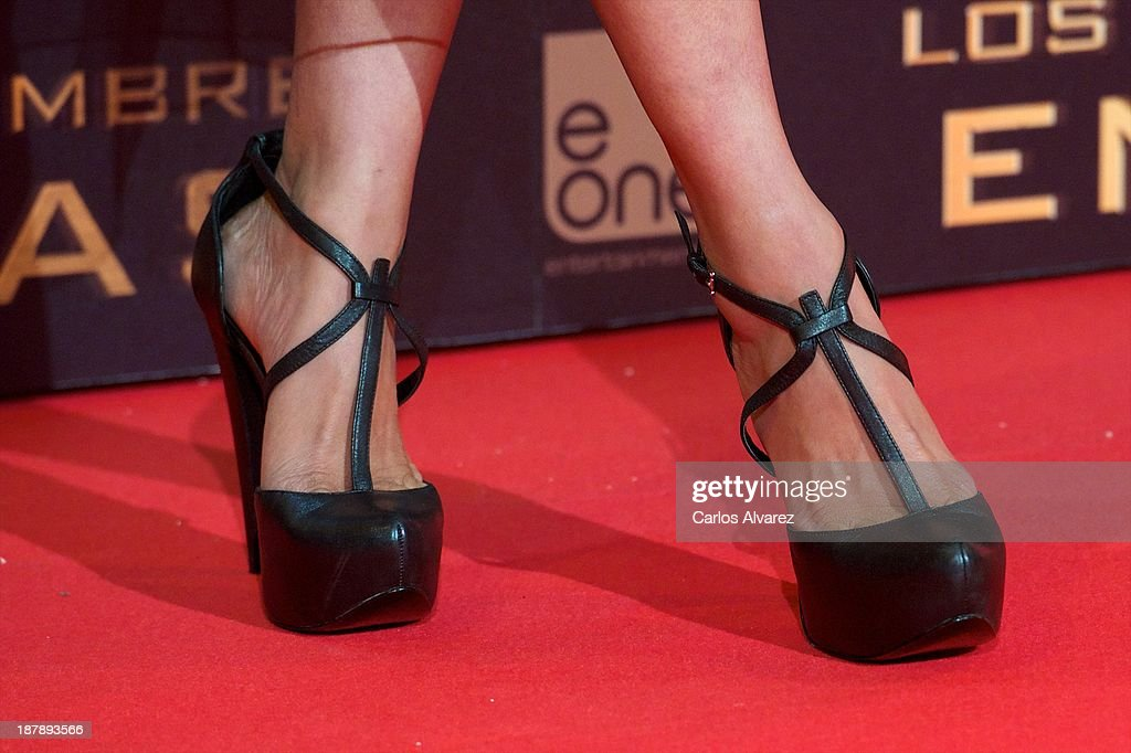 Actress Meta Golding attends the Spanish premiere of the film 'The Hunger Games - Catching Fire' (Los Juegos Del Hambre: En Llamas) at the Callao cinema on November 13, 2013 in Madrid, Spain.