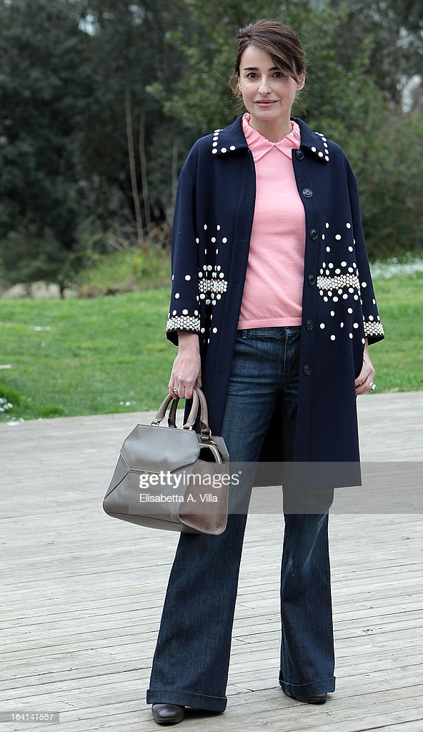 Actress Mia Benedetta attends 'Outing Fidanzati Per Sbaglio' photocall at Casa del Cinema on March 20, 2013 in Rome, Italy.