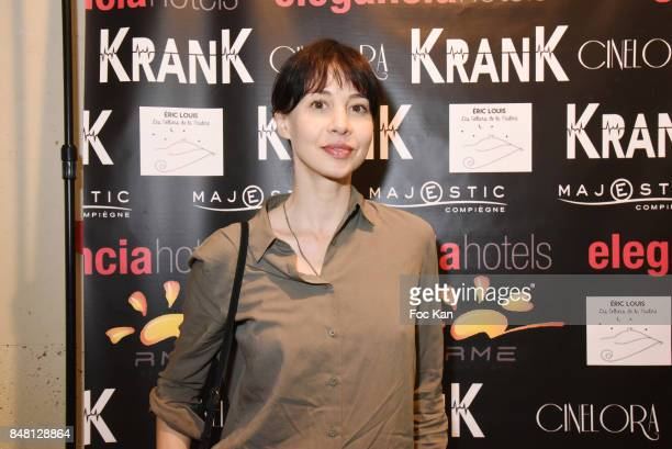 Actress Mia Jacob attends 'Krank' Film Screening at Cinema La Clef on September 16 2017 in Paris France