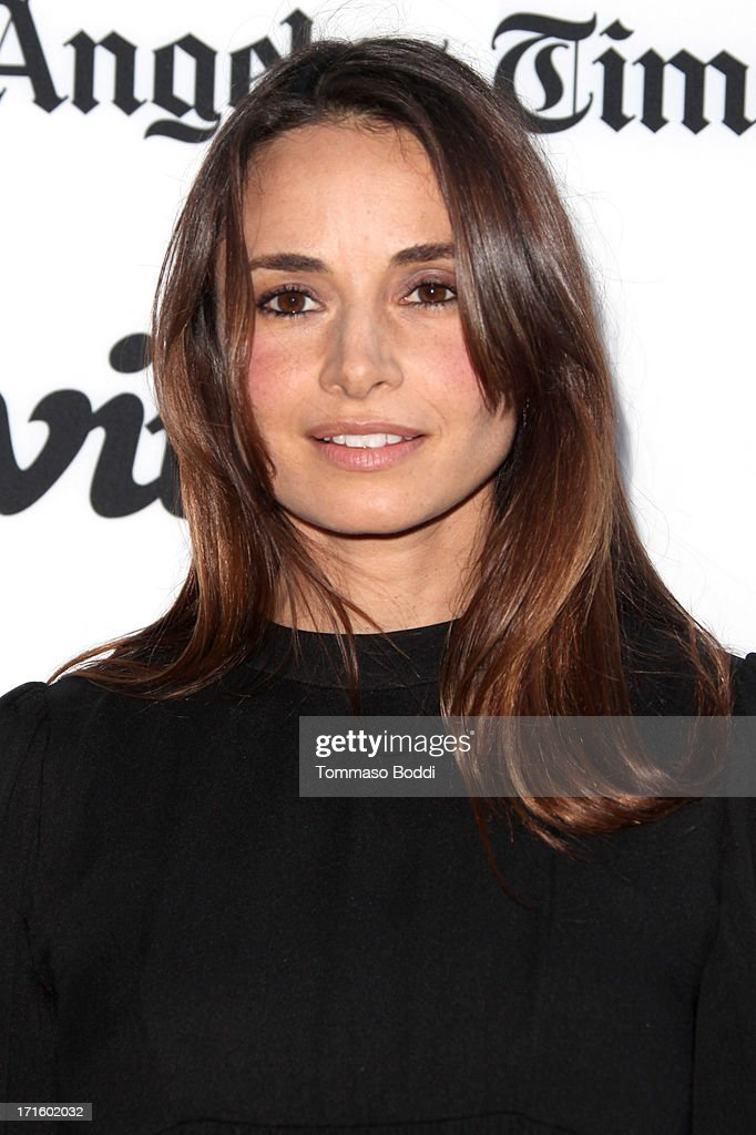 Actress Mia Maestro attends the 'Some Girl' Los Angeles premiere held at Laemmle NoHo 7 on June 26 2013 in North Hollywood California
