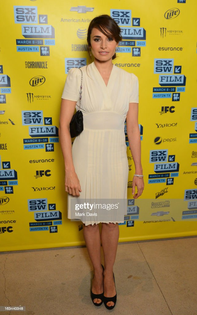 Actress Mia Maestro attends the 'Some Girl' red carpet arrivals at the 2013 SXSW Music Film Interactive Festival held at the Topfer Theatre at ZACH...