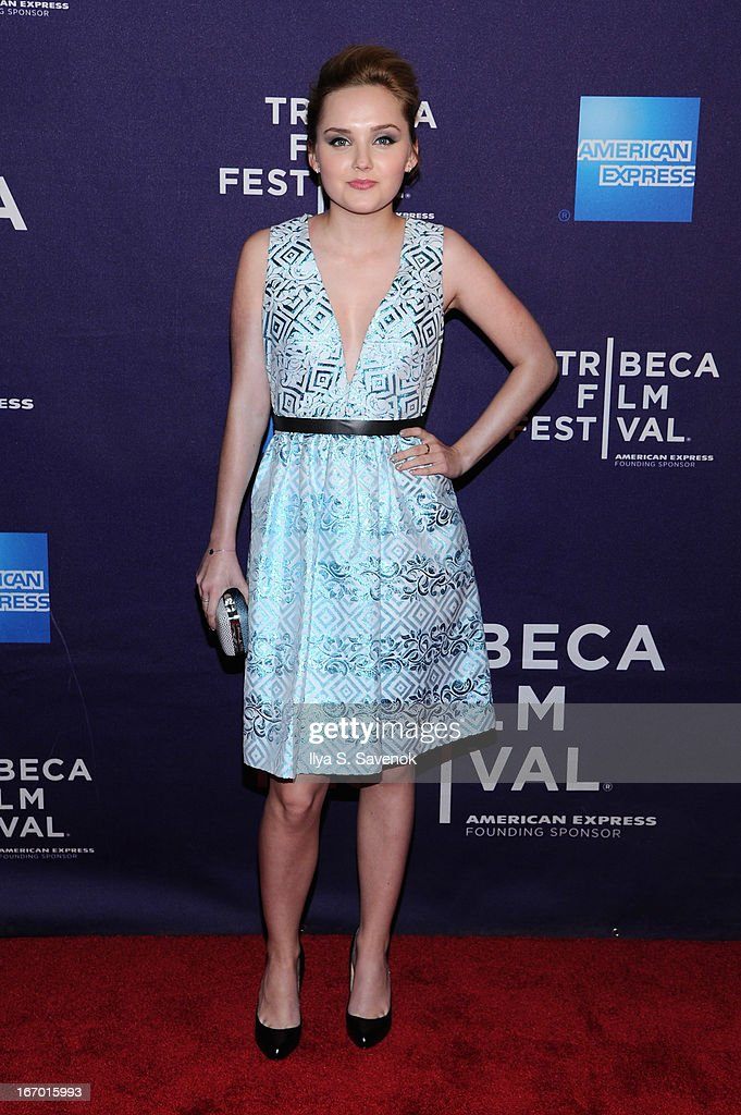 Actress Mia Rose Frampton attends the 'G.B.F.' world premiere during the 2013 Tribeca Film Festival on April 19, 2013 in New York City.