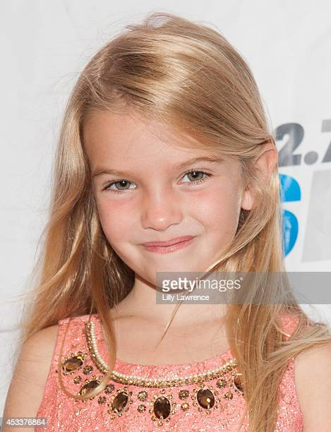 Actress Mia Talerico arrives at KIIS FM's Teen Choice PreParty at W Los Angeles Westwood on August 8 2014 in Los Angeles California