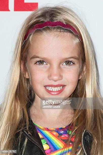 Actress Mia Talerico arrives at the Disney XD Premiere Screening of 'Pants on Fire' on November 4 2014 in Hollywood California