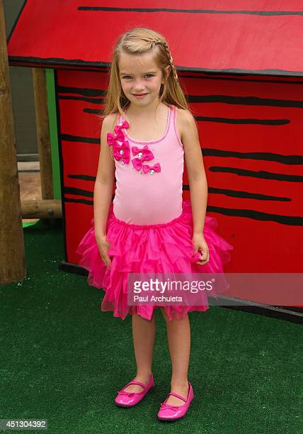Actress Mia Talerico attends Camp Snoopy's 30th anniversary VIP party at Knott's Berry Farm on June 26 2014 in Buena Park California