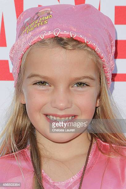 Actress Mia Talerico attends Disney's VIP halloween event at Disney Consumer Products Campus on October 1 2014 in Glendale California