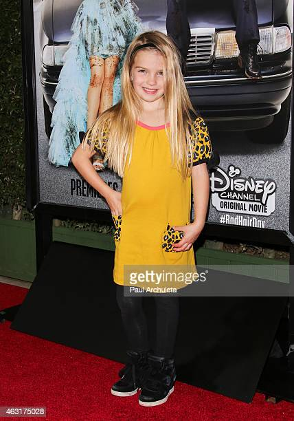 Actress Mia Talerico attends the Los Angeles premiere of 'Bad Hair Day' a Disney Channel original movie at Walt Disney Studios on February 10 2015 in...