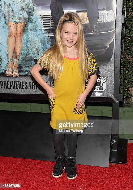 Actress Mia Talerico attends the Los Angeles premiere of the Disney Channel Original Movie 'Bad Hair Day' at Walt Disney Studios on February 10 2015...