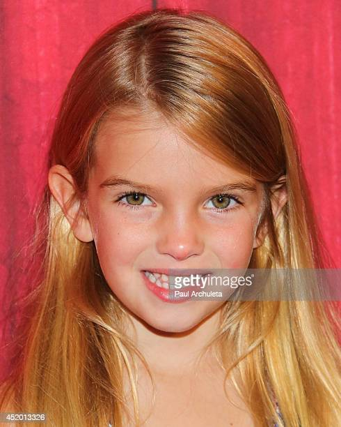 Actress Mia Talerico attends the Ringling Bros and Barnum Bailey's 'Legends' premiere at Staples Center on July 10 2014 in Los Angeles California