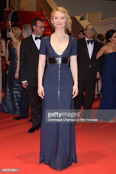 Actress Mia Wasikowska attends the 'Maps To The Stars' photocall at the 67th Annual Cannes Film Festival on May 19 2014 in Cannes France