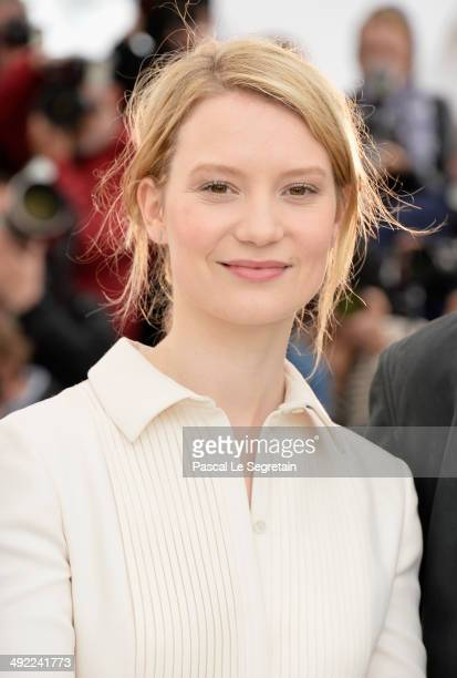 Actress Mia Wasikowska attends the 'Maps To The Stars' photocall during the 67th Annual Cannes Film Festival on May 19 2014 in Cannes France