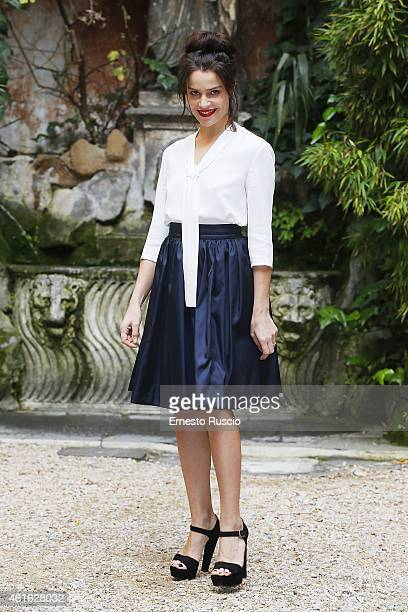 Actress Micaela Ramazzotti attends the 'Il Nome Del Figlio' photocall at Via Delle Quattro Fontane on January 16 2015 in Rome Italy