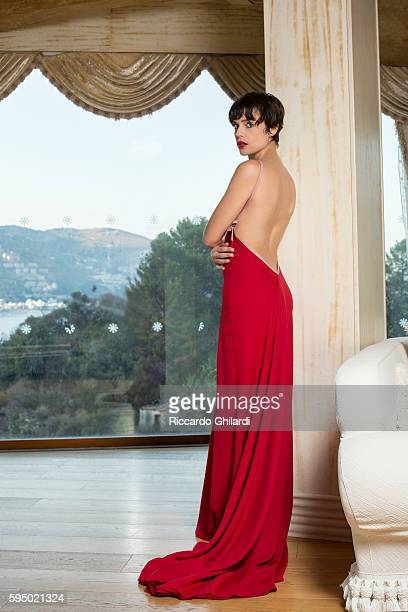 Actress Micaela Ramazzotti is photographed for for Self Assignment on July 2 2016 in Taormina Italy