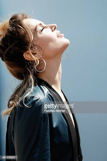 Actress Micaela Ramazzotti is photographed for Self Assignment on May 17 2014 in Cannes France