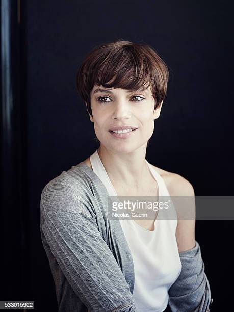 Actress Micaela Ramazzotti is photographed for Self Assignment on May 15 2016 in Cannes France