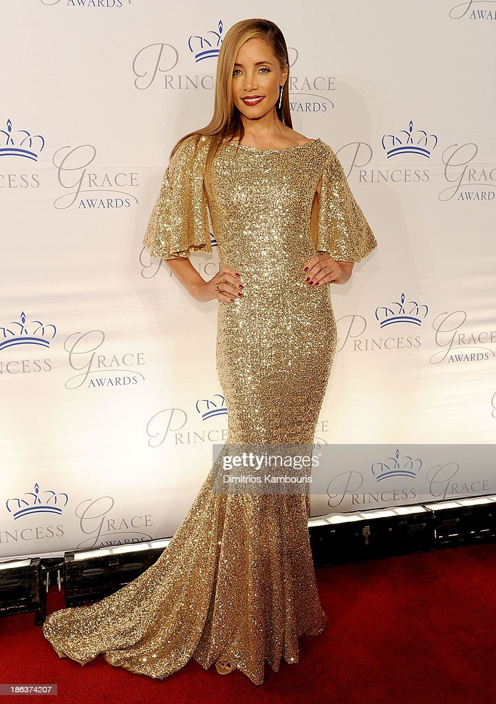 Actress <a gi-track='captionPersonalityLinkClicked' href=/galleries/search?phrase=Michael+Michele&family=editorial&specificpeople=206270 ng-click='$event.stopPropagation()'>Michael Michele</a> attends the 2013 Princess Grace Awards Gala at Cipriani 42nd Street on October 30, 2013 in New York City.