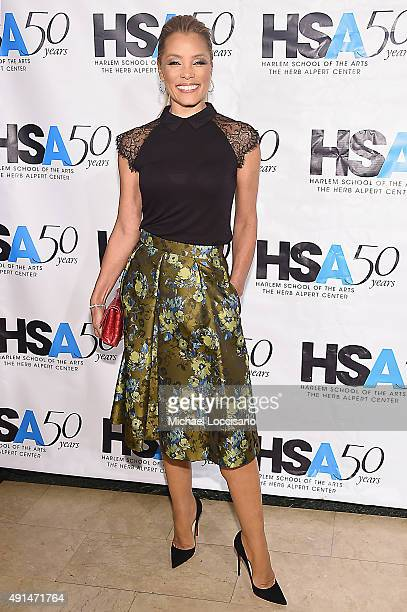 Actress Michael Michele attends the Harlem School of the Arts 50th anniversary kickoff at The Plaza on October 5 2015 in New York City